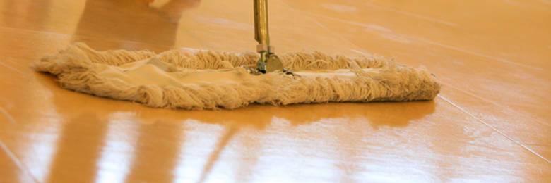 Почистване на подове от ламинат
